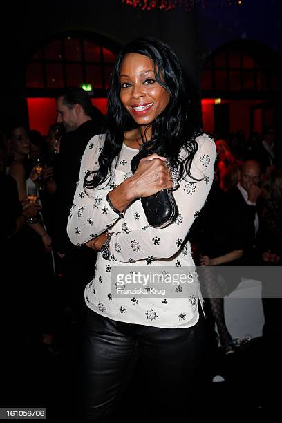 Liz Baffoe attends the 'Festival Night by Bunte and BMW' at the 63rd Berlinale International Film Festival at the Humboldt Carre on February 8 2013...