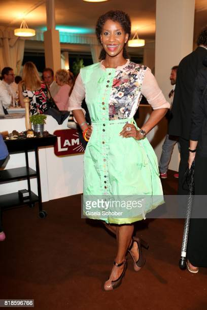 Liz Baffoe during the media night of the CHIO 2017 on July 18 2017 in Aachen Germany