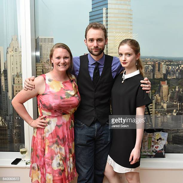 Liz Beller Henry Harjes and Alexander Bell attend ABT Spring Assemble at 201 East 57th Street on June 13 2016 in New York City