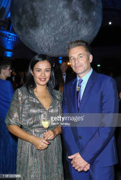 Liz Bonnin and Chris Packham attend the Wildlife Photographer of the Year Awards 2019 hosted in Hintze Hall at the Natural History Museum on October...