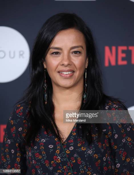 Liz Bonnin attends Netflixs Our Planet announcement at WWFs State of the Planet Address at Westminster Hall on November 8 2018 in London England