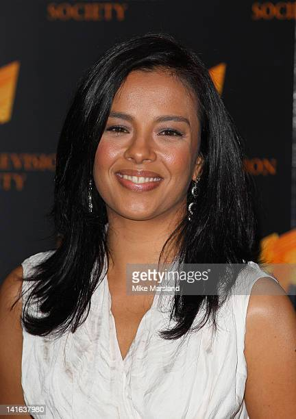 Liz Bonnin attends the RTS Programme Awards at Grosvenor House on March 20 2012 in London England