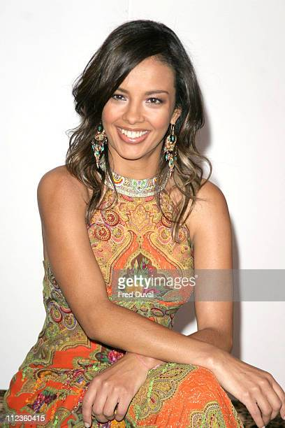 Liz Bonnin during The Aura of Asia Arrivals and Show at Battersea Marquee in London Great Britain