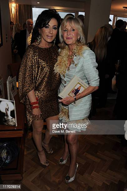 Liz Brewer and Nancy Dell'Olio attend Liz Brewer's 'Ultimate Guide To Party Planning Etiquette' Book Launch Party on June 18 2011 at the Westbury...