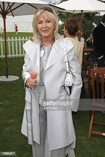 Liz Brewer attends Rock The Polo The Cartier International Polo Day at Guards Polo Club on July 29 2007 in Windsor England