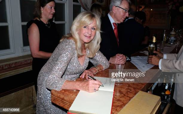 Liz Brewer attends the 35th Birthday of Harry's Bar on September 19 2014 in London England
