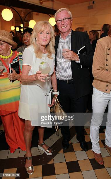 Liz Brewer attends the launch of Sod The Bitches by Steven Berkoff at La Brasserie on May 11 2015 in London England