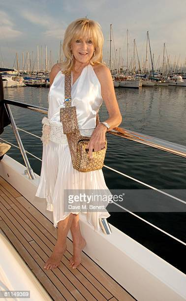 Liz Brewer poses during a photocall to promote producer Lisa Tchenguiz's new films 'The World Unseen' and 'I Can't Think Straight' at Lisa...