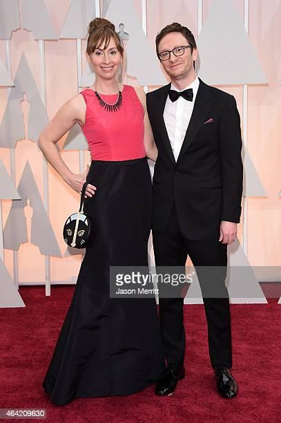 Liz Cackowski mit freundlicher, Ehemann Akiva Schaffer