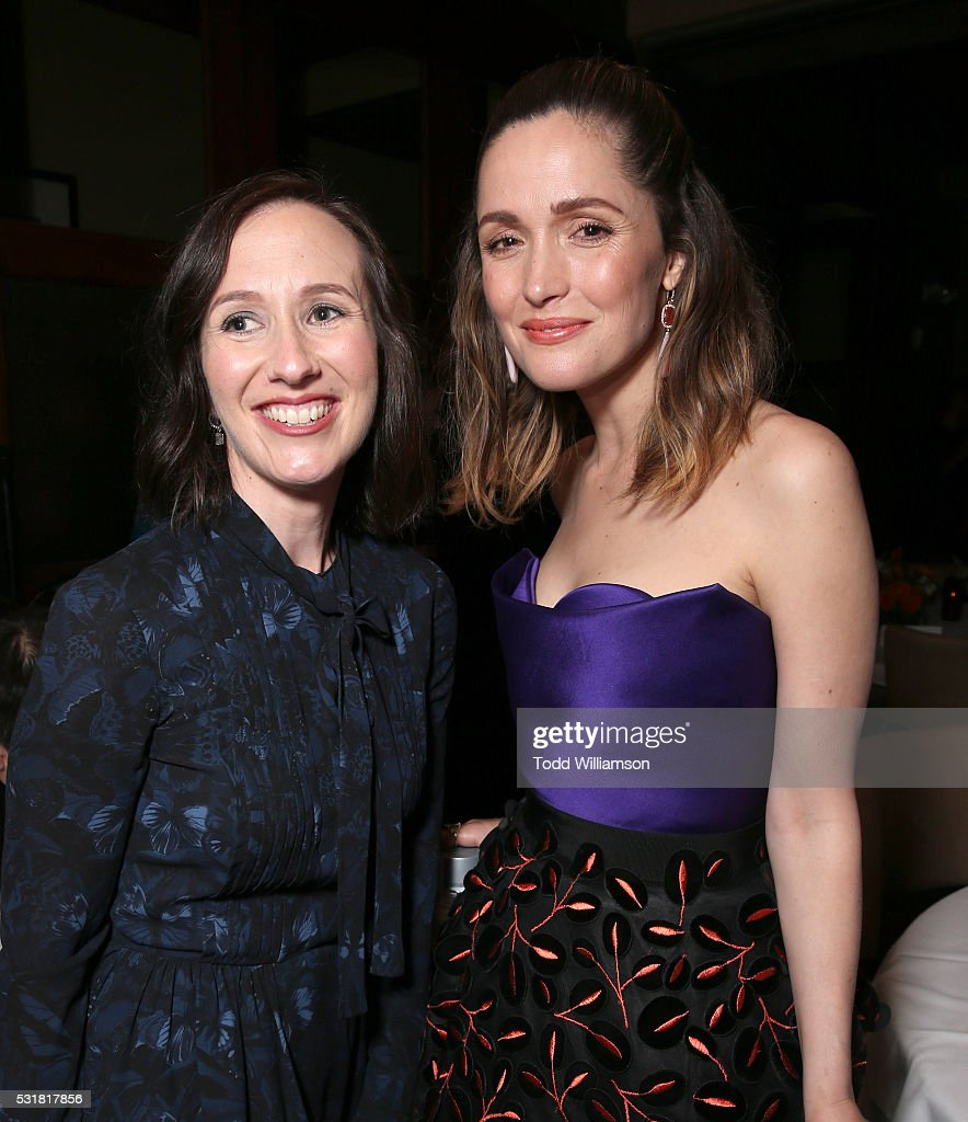 Liz Cackowski and Rose Byrne attend the after party for the premiere of Universal Pictures' 'Neighbors 2: Sorority Rising' on May 16, 2016 in Los Angeles, California.