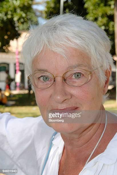 Liz Calder director of Bloomsbury Publishing poses during the Parati International Literary Festival in Parati Brazil Thursday August 10 2006 Nobel...