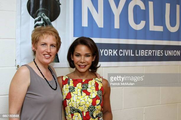 Liz Callaway and Daphne RubinVega attend Broadway Stands Up For Freedom A Concert To Benefit the Youth Programs Of The NYCLU at NYU Skirball Center...