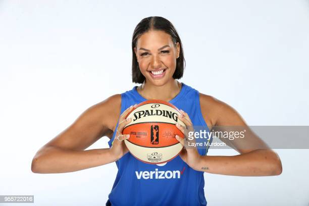 Liz Cambage of the Dallas Wings poses for a portrait on May 4 2018 at College Park Center in Arlington Texas NOTE TO USER User expressly acknowledges...