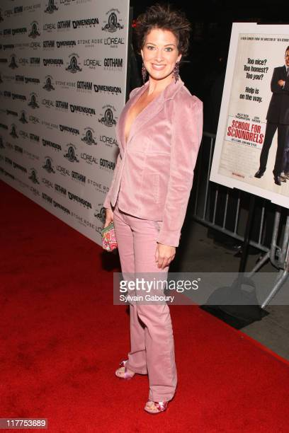 """Liz Carter during """"School For Scoundrels"""" New York Premiere at AMC Loews Lincoln Square in New York City, New York, United States."""