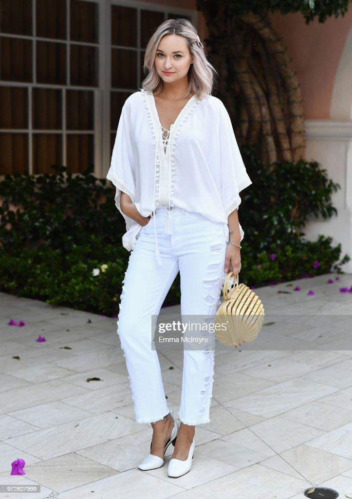Liz Cherkasova attends Summer '18 Box of Style by Rachel Zoe Soiree at Hotel Bel Air on June 12, 2018 in Los Angeles, California.