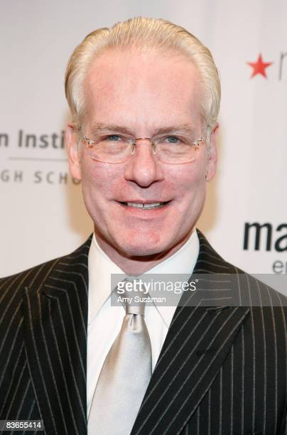 Liz Claiborne Chief Creative Officer Tim Gunn attends the 2008 Emery Awards at Cipriani on November 11 2008 in New York City