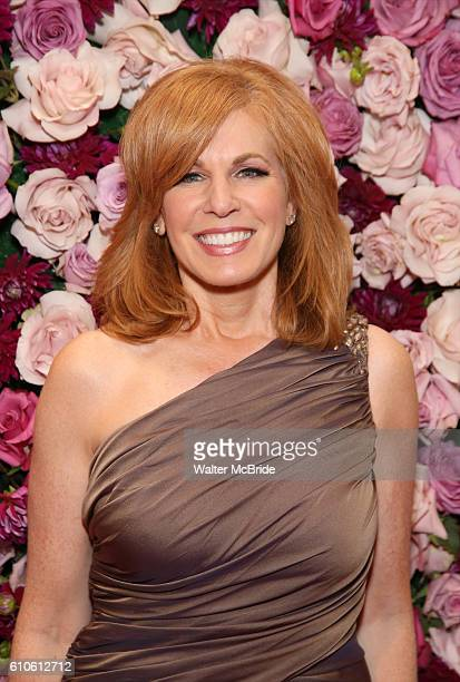 Liz Claman attends the 2016 American Theatre Wing Gala honoring Cicely Tyson at the Plaza Hotel on September 22 2016 in New York City