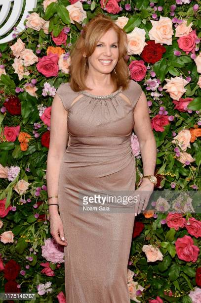 Liz Claman attends The American Theatre Wing's 2019 Gala at Cipriani 42nd Street on September 16 2019 in New York City