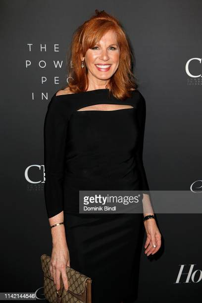 Liz Claman attends the The Hollywood Reporter's 9th Annual Most Powerful People In Media at The Pool on April 11 2019 in New York City