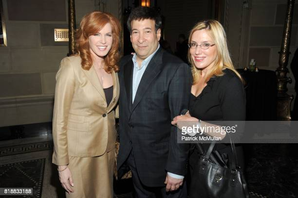 Liz Claman Mark Simone and Dolly Lenz attend THE WALL STREET JOURNAL's GREATER NEW YORK Launch Celebration at Gotham Hall on April 26th 2010 in New...