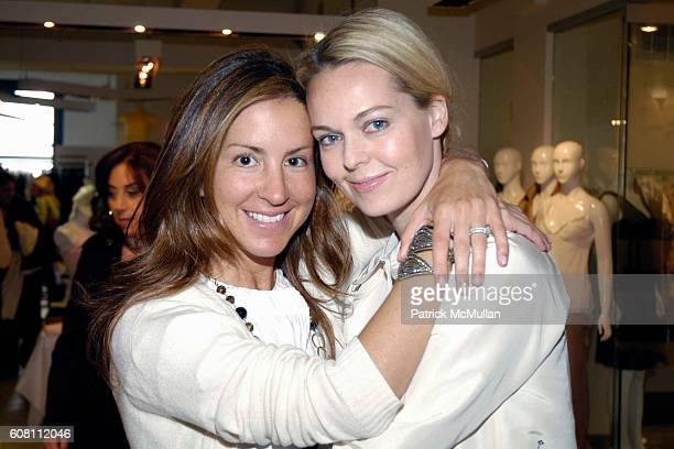 Liz Cohen and Lauren DuPont attend Magaschoni Fundraiser for The Center For Discovery at Magaschoni Showroom on April 19 2007 in New York City