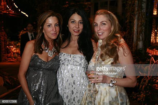 Liz Cohen Hausman Aida Khoursheed and Beth Blake attend The Tenth Annual WINTER WONDERLAND BALL Sponsored by CHANEL FINE JEWELRY at The New York...