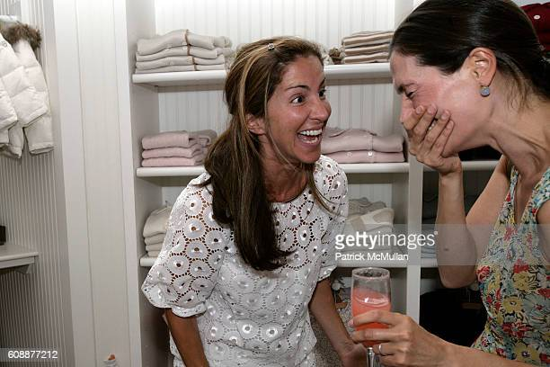 Liz Cohen Hausman and Annette Lauer attend HATCHLINGS Spring 2008 HATCH Boys Collection hosted by ANNETTE LAUER CRISTINA CUOMO and ANA MARIA PEREZ at...