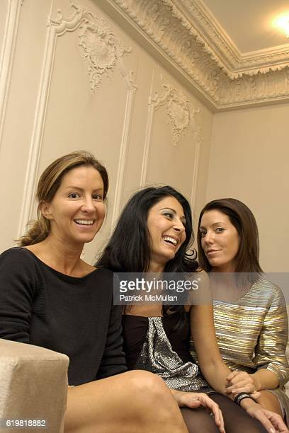 Liz CohenHausman Aida Khoursheed and Jennifer Raines attend Grand Opening of Jay Ahr at 801 Madison Ave on October 15 2008 in New York City