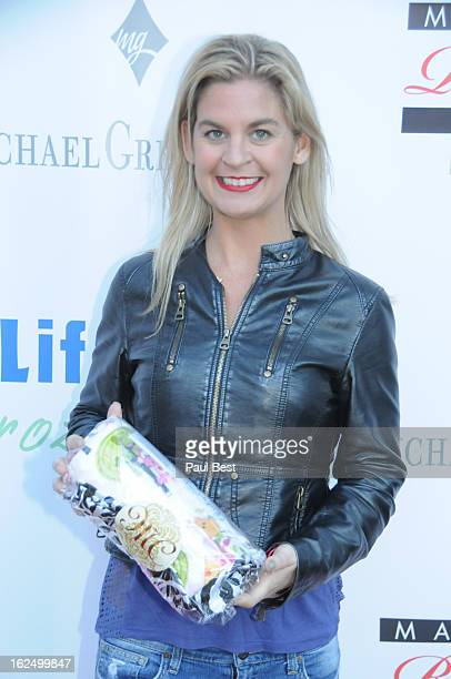 Liz Crokin attends Eco Oscars 2013 on February 23 2013 in Beverly Hills California