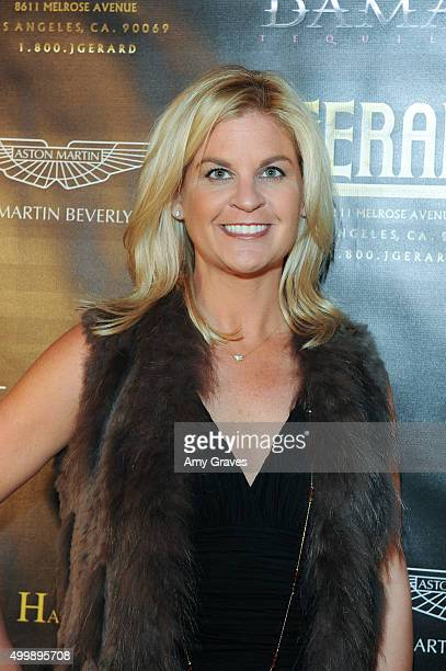 Liz Crokin attends the Project Divine from JGerard Peace Gallery a VIP celebrity cocktail event with black Carpet and silent auction and celebrity...