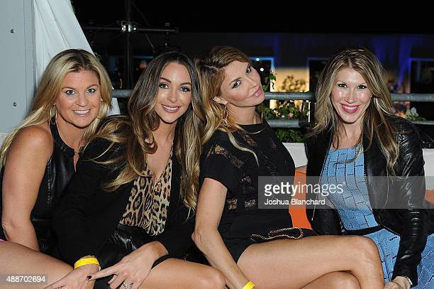 Liz Crokin Courtney Sixx Brandi Glanville and Kimberly Dawn attend the Third Annual All Star Mixology Competition at SkyBar at the Mondrian Los...