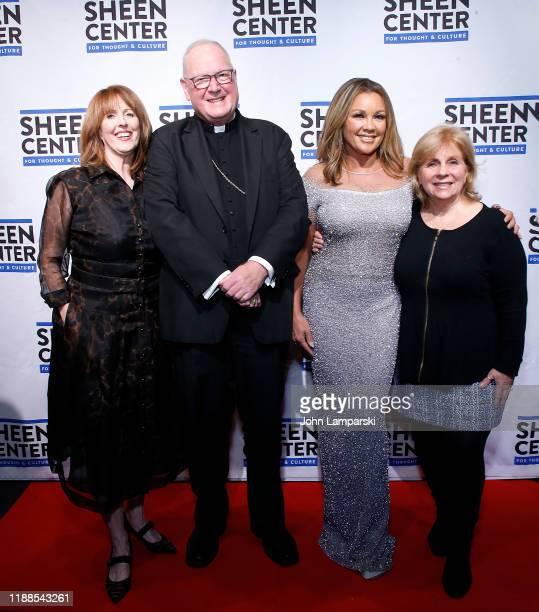 Liz Curtiss Cardinal Dola nVanessa Williams and Lori Guillard attend Sheen Center presents Vanessa Williams Friends thankful for Christmas with...
