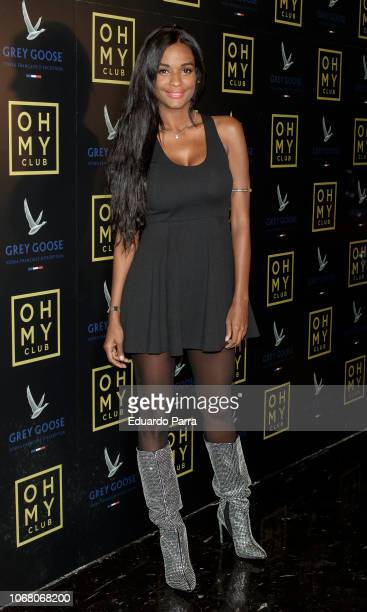 Liz Emiliano attends the 'Oh My Club' opening party at Oh My Club on November 15 2018 in Madrid Spain
