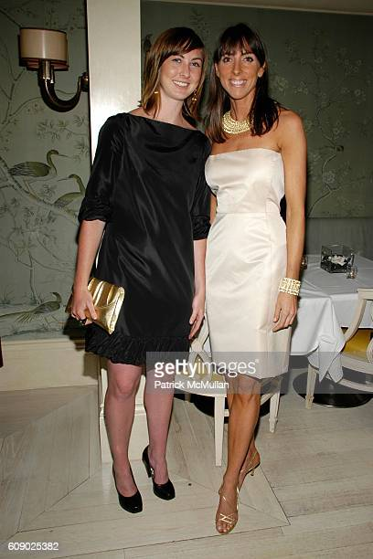Liz Figel and Martha O'Brien attend BERGDORF GOODMAN hosts cocktails to introduce the MARTHA O'BRIEN JEWELRY Collection at 7th Floor on May 9 2007 in...
