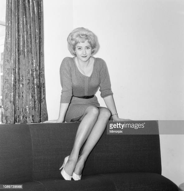Liz Fraser English actress at Shepperton Film Studios Wednesday 7th March 1962 Liz Fraser is playing the part of Private Suzie Tidmarsh in The...