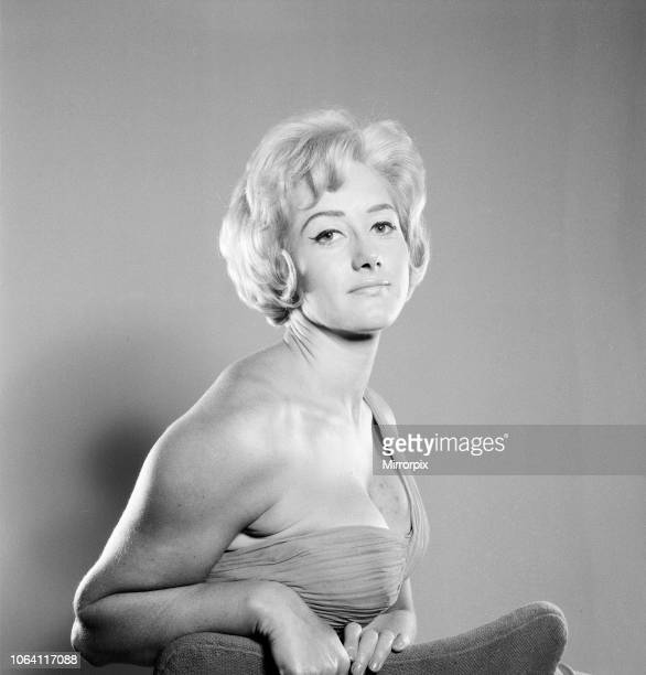 Liz Fraser English actress Pictured at Daily Mirror Studio London Sunday 16th December 1962