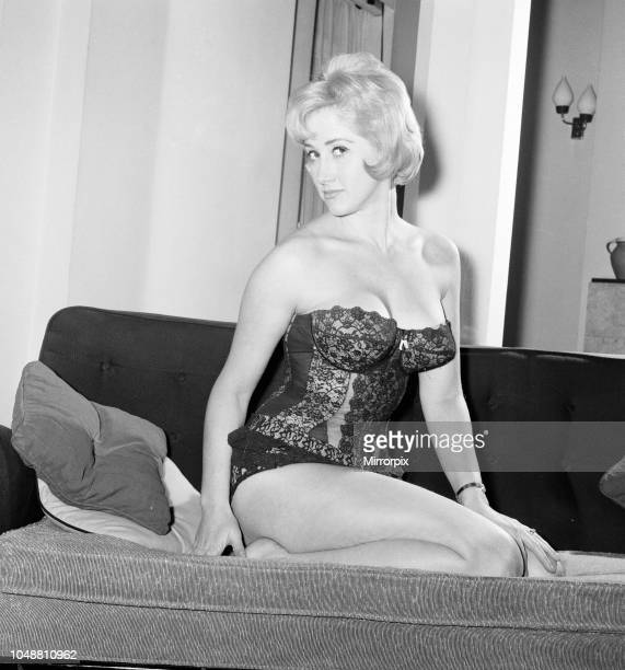 Liz Fraser English actress pictured at home of Donald Zec Daily Mirror Journalist London Friday 15th March 1963 Donald Zec Feature Interview