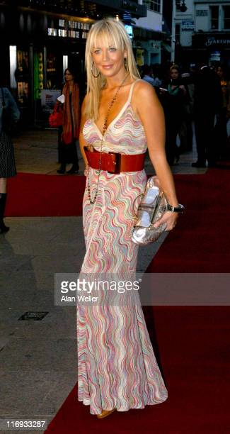 Liz Fuller during The Children of Men London Premiere at Odeon Leicester Square in London Great Britain