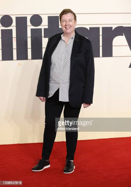 Liz Gallacher attends the Military Wives UK Premiere at Cineworld Leicester Square on February 24 2020 in London England