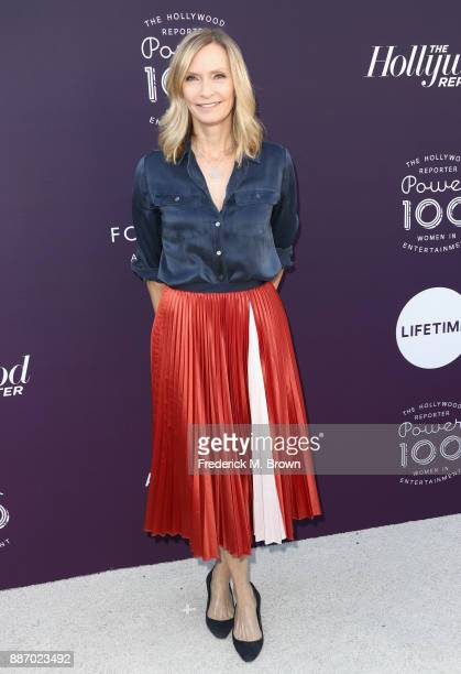 Liz Gateley attends The Hollywood Reporter's 2017 Women In Entertainment Breakfast at Milk Studios on December 6 2017 in Los Angeles California