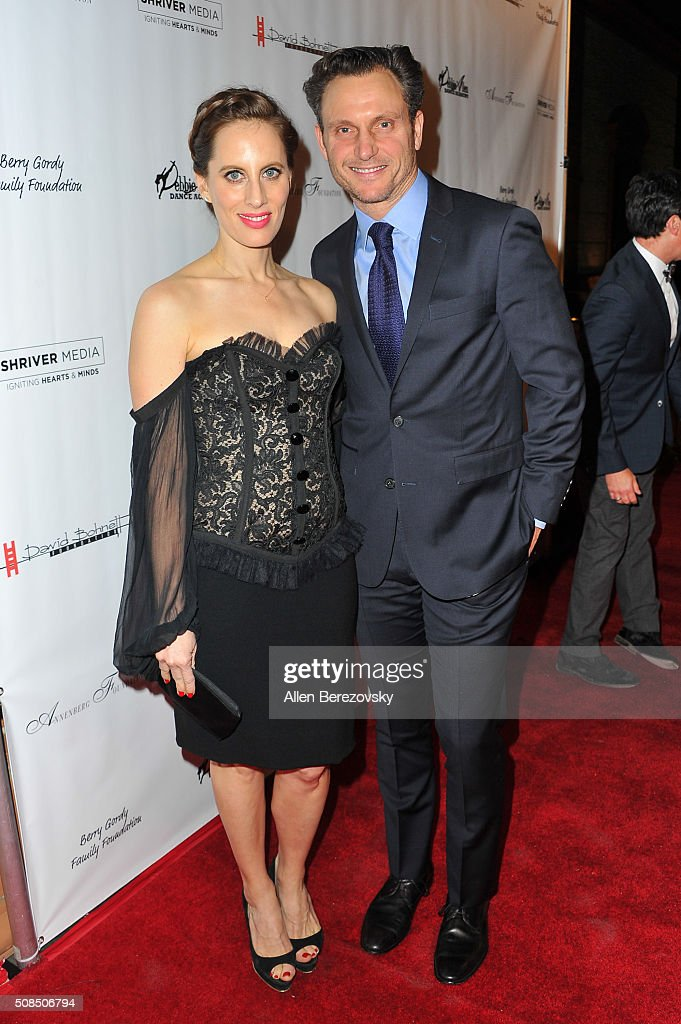 Liz Goldwyn and her brother actor Tony Goldwyn attend the U.S. Premiere of Debbie Allen's 'Freeze Frame' at The Wallis Annenberg Center for the Performing Arts on February 4, 2016 in Beverly Hills, California.