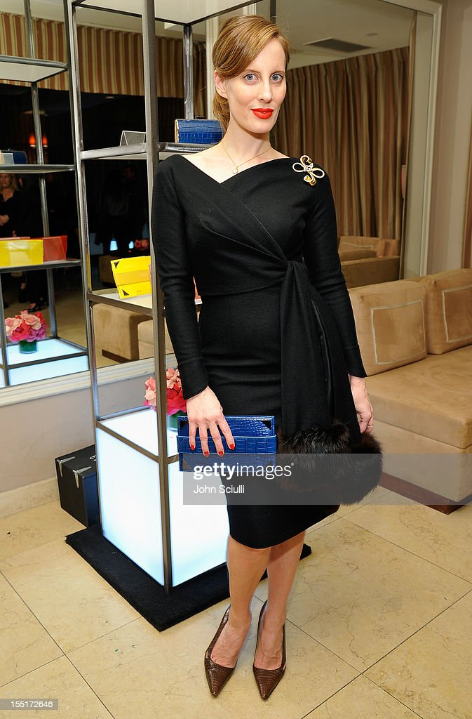 Liz Goldwyn attends a dinner hosted by Ali Larter celebrating the Devi Kroell Spring Summer 2013 Collection at Sunset Tower on November 1, 2012 in West Hollywood, California.