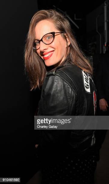 Liz Goldwyn attends ALAC Music Series @ Zebulon Presents Cat Power at Zebulon on January 25 2018 in Los Angeles California