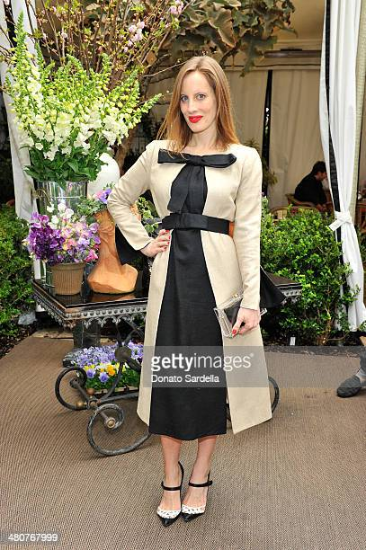 81259a9a78f1 Liz Goldwyn attends the Christian Louboutin  Passage  Handbag Luncheon on  March 25 2014 in