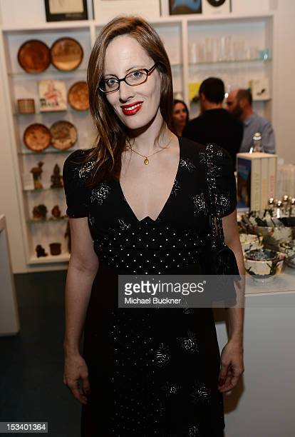 Liz Goldwyn attends the Director's Circle Celebration of WEAR LACMA Inaugural Designs by Johnson Hartig For Libertine And Gregory Parkinson at LACMA...