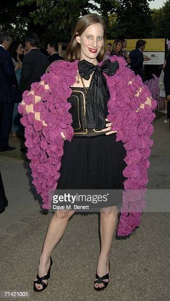 Liz Goldwyn attends The Serpentine Gallery Summer Party at the Serpentine Gallery on July 11, 2006 in London, England.