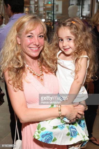 Liz Griggs and Laurel Griggs attend ELIE TAHARI CFDA SPARKLE IN THE SUN EVENT at Elie Tahari Boutique on July 10 2010 in New York
