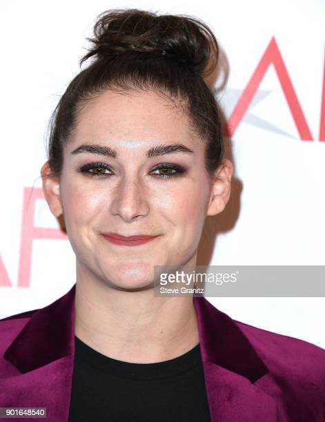 Liz Hannah arrives at the 18th Annual AFI Awards on January 5 2018 in Los Angeles California