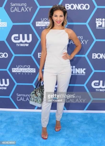 Liz Hernandez arrives at the 16th Annual Young Hollywood Awards at The Wiltern on July 27 2014 in Los Angeles California