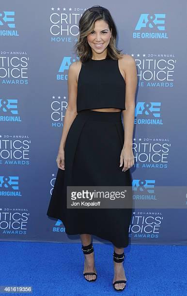 Liz Hernandez arrives at the 20th Annual Critics' Choice Movie Awards at Hollywood Palladium on January 15 2015 in Los Angeles California